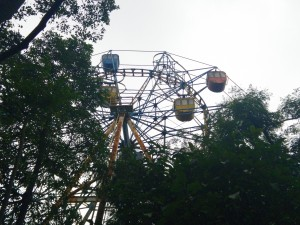 Abandoned Ferris Wheel at Tuoi Tre